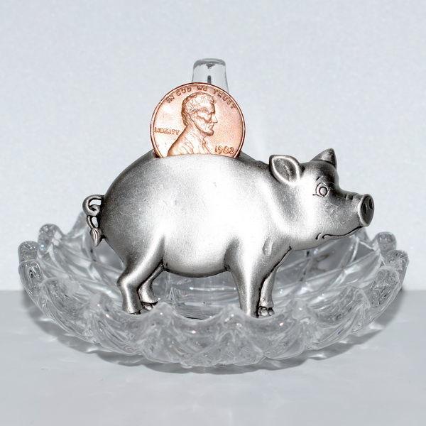 свинка, новый год